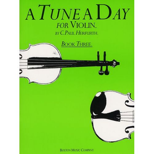 BOSWORTH A TUNE A DAY FOR VIOLIN BOOK THREE - VIOLIN