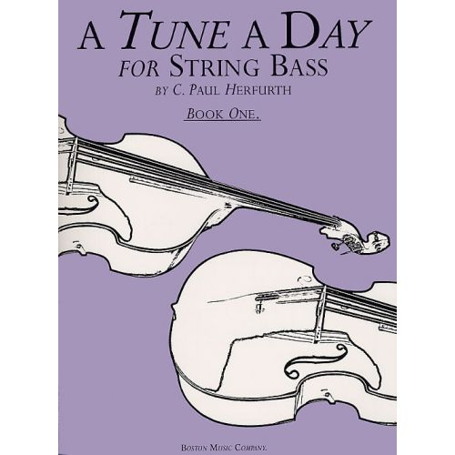 BOSWORTH A TUNE A DAY FOR STRING BASS BOOK ONE DB - DOUBLE BASS