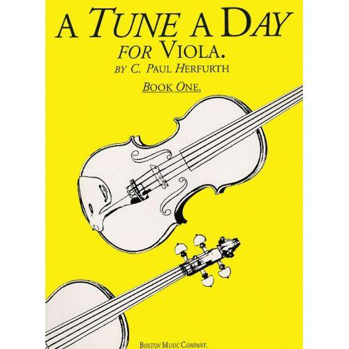 BOSWORTH A TUNE A DAY FOR VIOLA BOOK ONE VLA - 1 - VIOLA