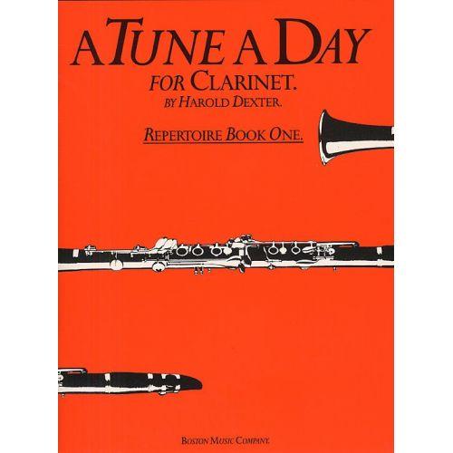 BOSWORTH A TUNE A DAY - REPERTOIRE BOOK 1 - CLARINET