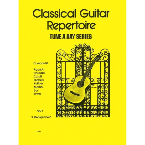 BOSWORTH A TUNE A DAY FOR CLASSICAL GUITAR REPERTOIRE VOL. 1 - CLASSICAL GUITAR