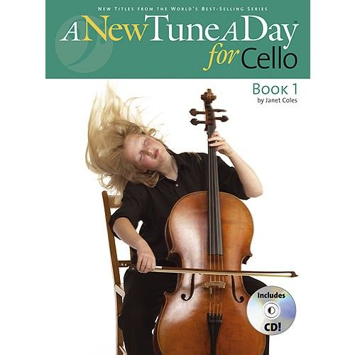 BOSWORTH A NEW TUNE A DAY CELLO BOOK 1 + CD - CELLO