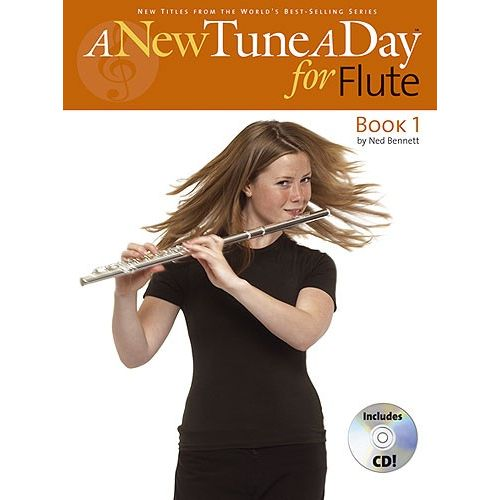 BOSWORTH BENNETT NED - A NEW TUNE A DAY - BOOK 1 - FLUTE