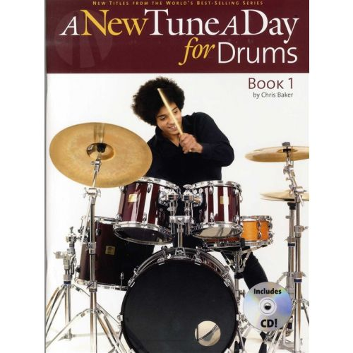 BOSWORTH BAKER CHRIS - A NEW TUNE A DAY FOR DRUMS - BK. 1 - DRUMS