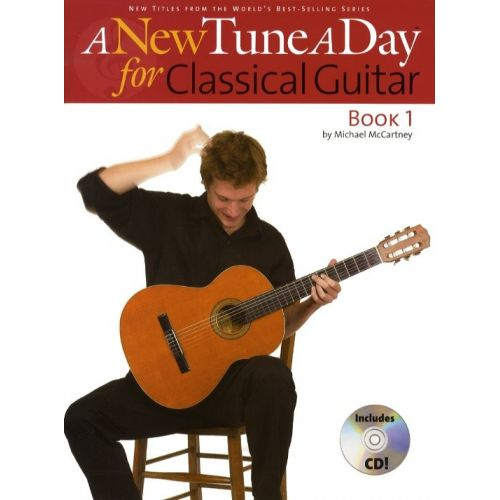 BOSWORTH MICHAEL MCCARTNEY - A NEW TUNE A DAY CLASSICAL GUITAR BOOK 1 + CD - CLASSICAL GUITAR