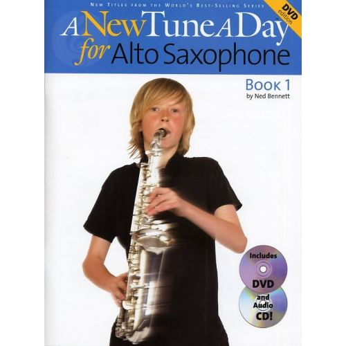 BOSWORTH BENNETT NED - A NEW TUNE A DAY FOR ALTO SAXOPHONE