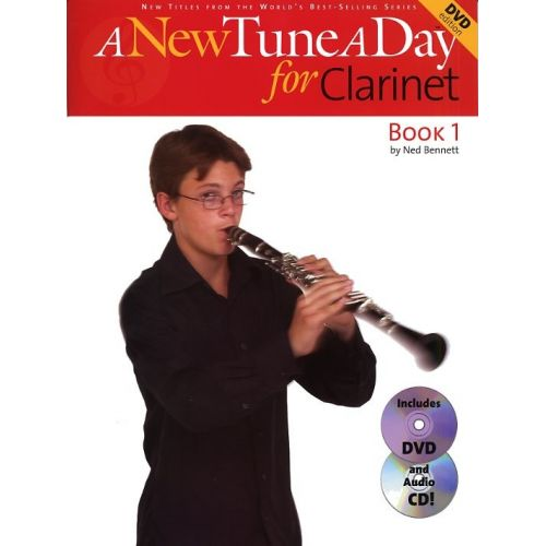 BOSWORTH A NEW TUNE A DAY CLARINET BOOK 1 + CD/DVD - CLARINET