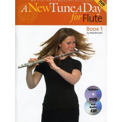 BOSWORTH A NEW TUNE A DAY FLUTE BOOK 1 + CD/DVD - FLUTE