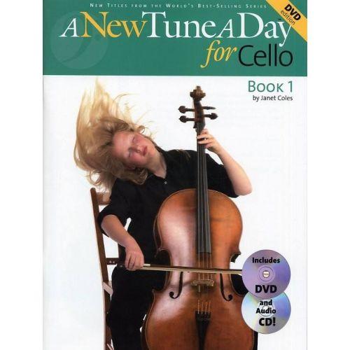 BOSTON MUSIC COMPANY A NEW TUNE A DAY CELLO BK1 CD DVD EDITION