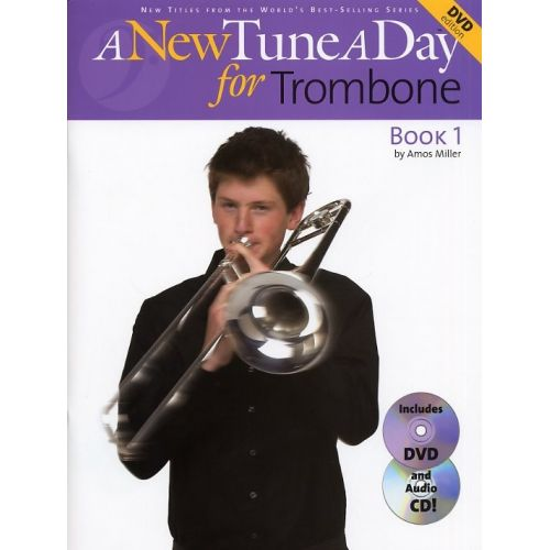 BOSWORTH MILLER AMOS - A NEW TUNE A DAY FOR TROMBONE - TROMBONE