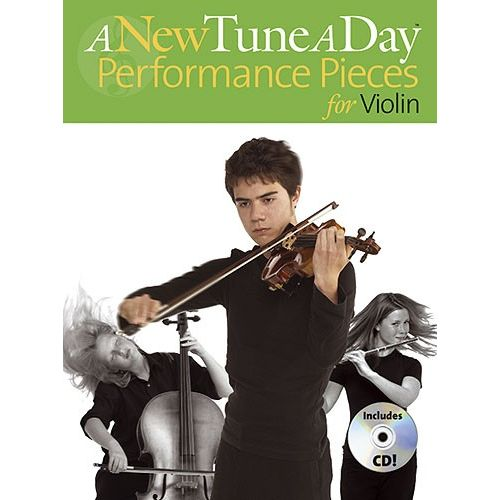 BOSWORTH A NEW TUNE A DAY PERFORMANCE PIECES + CD - VIOLIN