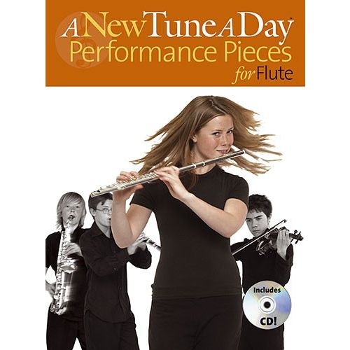BOSWORTH A NEW TUNE A DAY PERFORMANCE PIECES - FLUTE