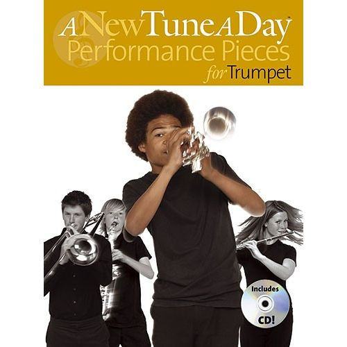 BOSWORTH A NEW TUNE A DAY PERFORMANCE PIECES- TRUMPET