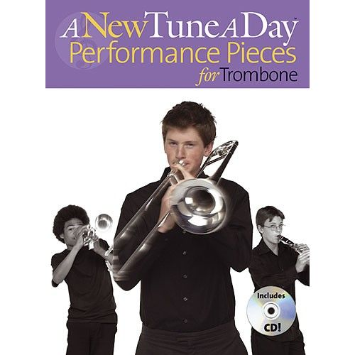 BOSWORTH A NEW TUNE A DAY PERFORMANCE PIECES FOR TROMBONE - TROMBONE