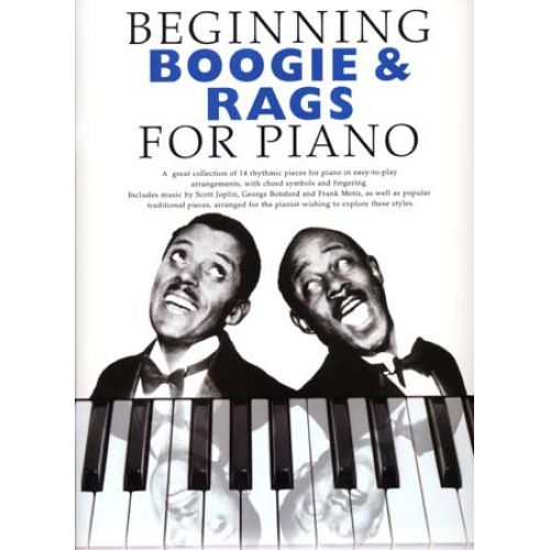 ID MUSIC BEGINNING BOOGIE & RAGS FOR PIANO