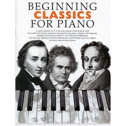 BOSWORTH BEGINNING CLASSICS- PIANO SOLO