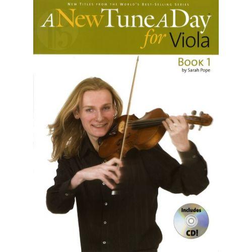 BOSWORTH A NEW TUNE A DAY VIOLA BOOK 1 + CD - VIOLA