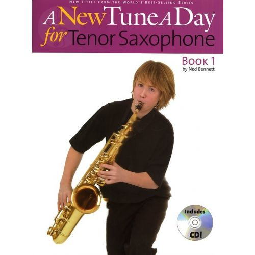 BOSWORTH BENNETT NED - A NEW TUNE A DAY FOR TENOR SAXOPHONE - TENOR SAXOPHONE