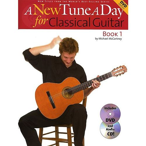 BOSWORTH MCCARTNEY MICHAEL - A NEW TUNE A DAY FOR CLASSICAL GUITAR - GUITAR