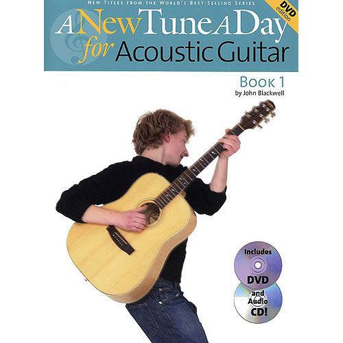 BOSWORTH JOHN BLACKWELL - ACOUSTIC GUITAR, BOOK 1 - A NEW TUNE A DAY - GUITAR