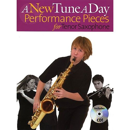 BOSWORTH A NEW TUNE A DAY PERFORMANCE PIECES + CD - TENOR SAXOPHONE