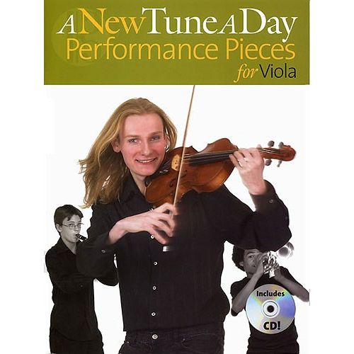 BOSWORTH A NEW TUNE A DAY PERFORMANCE PIECES + CD - VIOLA