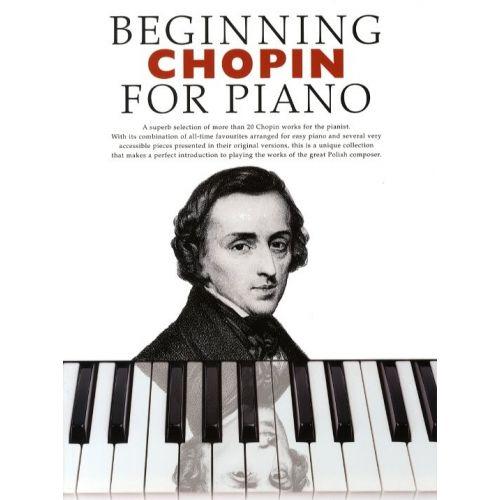 BOSWORTH BEGINNING CHOPIN- PIANO SOLO