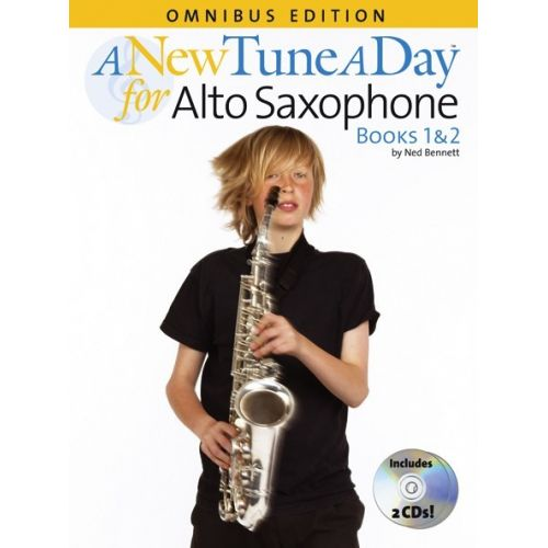 BOSWORTH A NEW TUNE A DAY FOR ALTO SAXOPHONE - BOOKS 1 AND 2 - ALTO SAXOPHONE