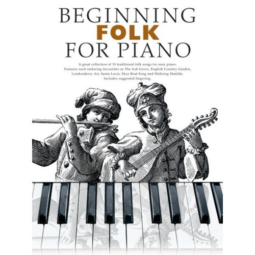 BOSWORTH BEGINNING FOLK- PIANO SOLO