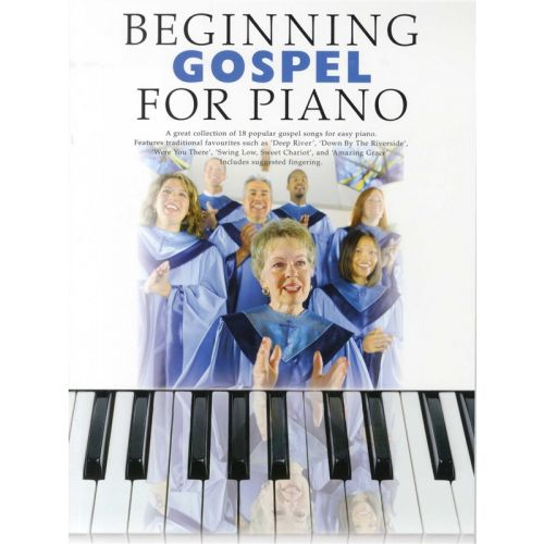 MUSIC SALES BEGINNING GOSPEL- PIANO SOLO