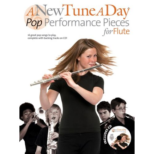 BOSWORTH A NEW TUNE A DAY POP PERFORMANCE PIECES + CD - FLUTE