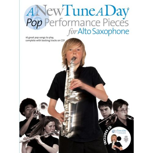 BOSWORTH A NEW TUNE A DAY POP PERFORMANCE PIECES - + CD - ALTO SAXOPHONE