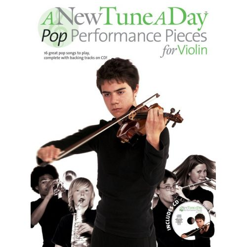 BOSWORTH A NEW TUNE A DAY - POP PERFORMANCE PIECES - VIOLIN