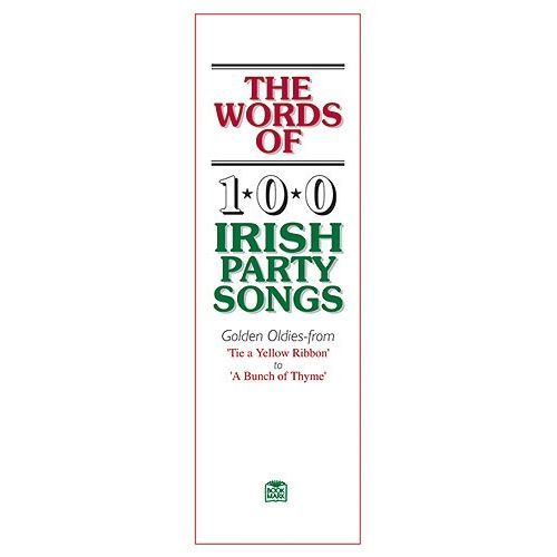 OSSIAN PUBLICATIONS WORDS OF 100 IRISH PARTY SONGS - V. 1 - LYRICS ONLY