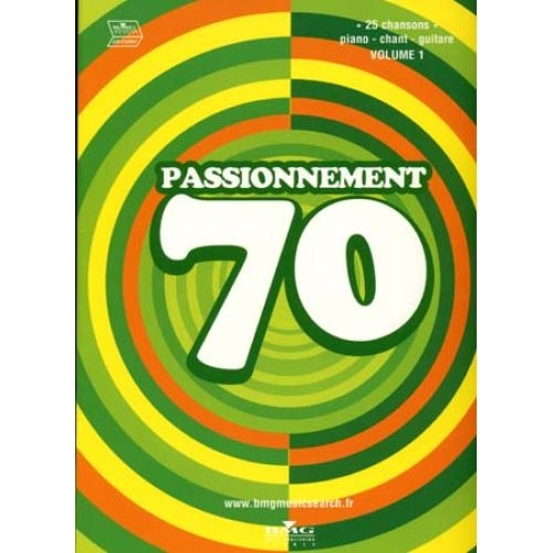 UNIVERSAL MUSIC PUBLISHING PASSIONNEMENT 70 VOL.1 - PVG