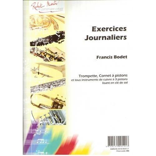 ROBERT MARTIN BODET - EXERCICES JOURNALIERS