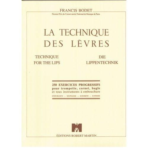 ROBERT MARTIN BODET - TECHNIQUE DES LVRES (LA)