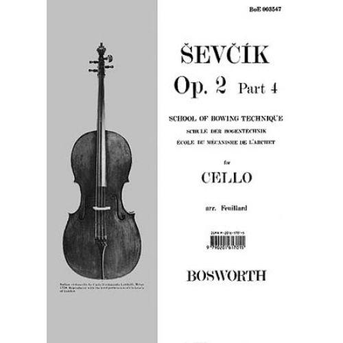 BOSWORTH SEVCIK - OP.2 PART.4 - SCHOOL OF BOWING TECHNIQUE - CELLO