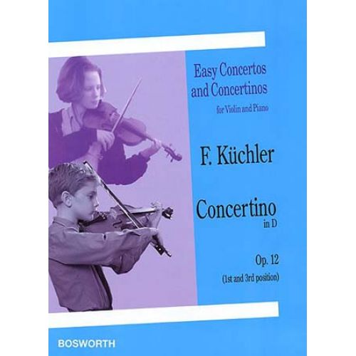 BOSWORTH KUCHLER - CONCERTINO OP.12 EN RE MAJEUR