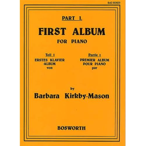 BOSWORTH KIRKBY-MASON FIRST ALBUM FOR PIANO PART.1