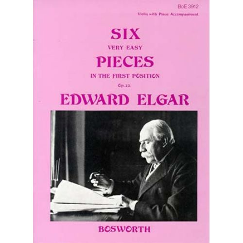 BOSWORTH ELGAR - 6 PIECES FACILES OP.22 - VIOLON