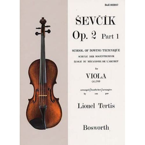 BOSWORTH SEVCIK - ETUDES OP.2 PART 1 - VIOLA