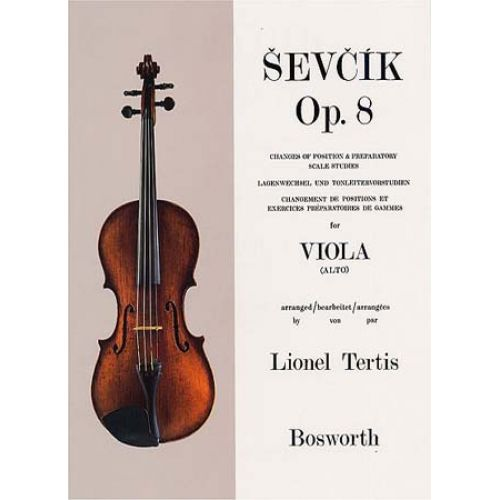 BOSWORTH SEVCIK - VIOLA STUDIES OP.8 CHANGE OF POSITION