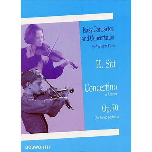 BOSWORTH SITT HANS - CONCERTINO OP.70 - VIOLON, PIANO