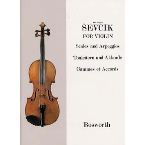 BOSWORTH SEVCIK - GAMMES ET ACCORDS - VIOLON
