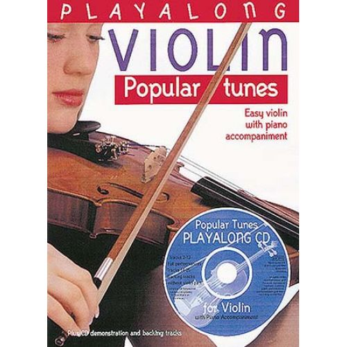 BOSWORTH PLAY ALONG VIOLIN - POPULAR TUNES - VIOLON