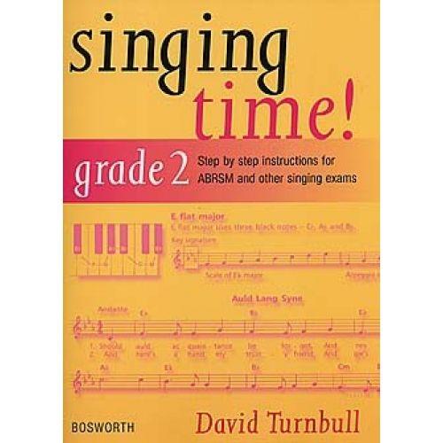 BOSWORTH TURNBULL DAVID - SINGING TIME! - GRADE 2