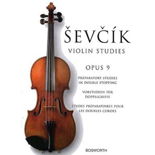 BOSWORTH SEVCIK - VIOLIN STUDIES OP.9