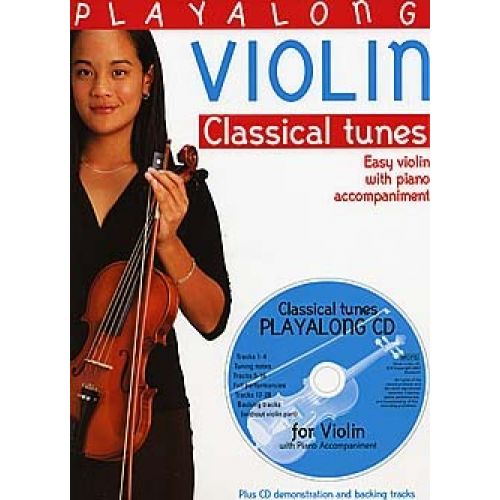 BOSWORTH PLAYALONG VIOLIN - CLASSICAL TUNES - VIOLIN