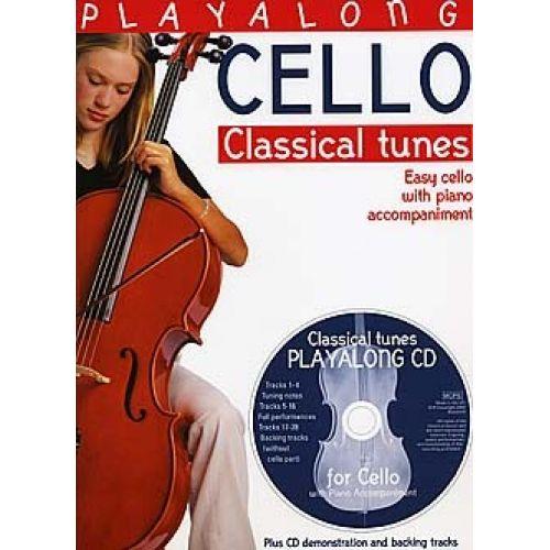 BOSWORTH PLAYALONG CELLO CLASSICAL TUNES + CD - CELLO